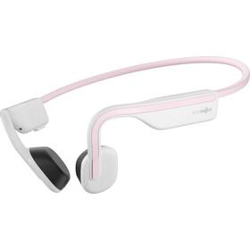 AfterShokz Openmove Knogleledende hovedtelefoner, hvid/pink